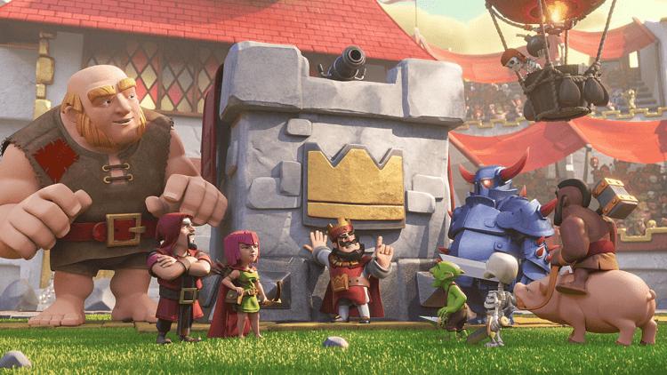 clash-clan-royale red king creatividad