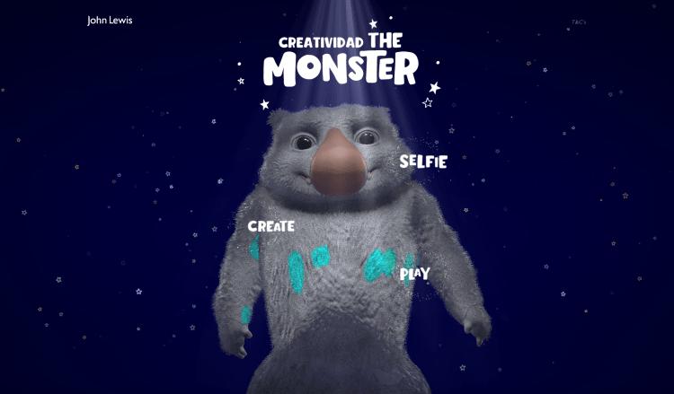 creatividad de navidad de john lewis el monstruo en la web
