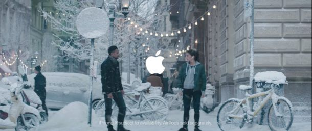 Sway, el spot navideño de apple