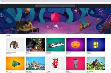 google poly creacion de objetos en 3d y vr