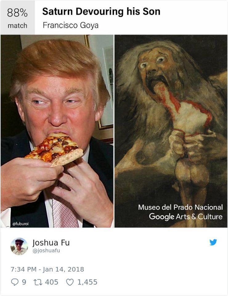 google art parecido obra de arte y tu cara