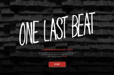 one last beat, historia interactiva