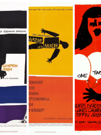 carteles creativos saul bass