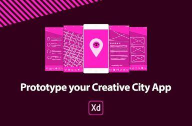 prototipa tu ciudad creativa app adobe xd