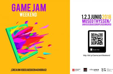 Game Jam Weekend Thyssen UNIVERSIDAD EUROPEA