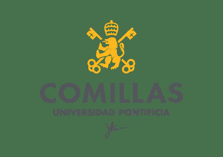 logotipo universidad pontificia de comillas