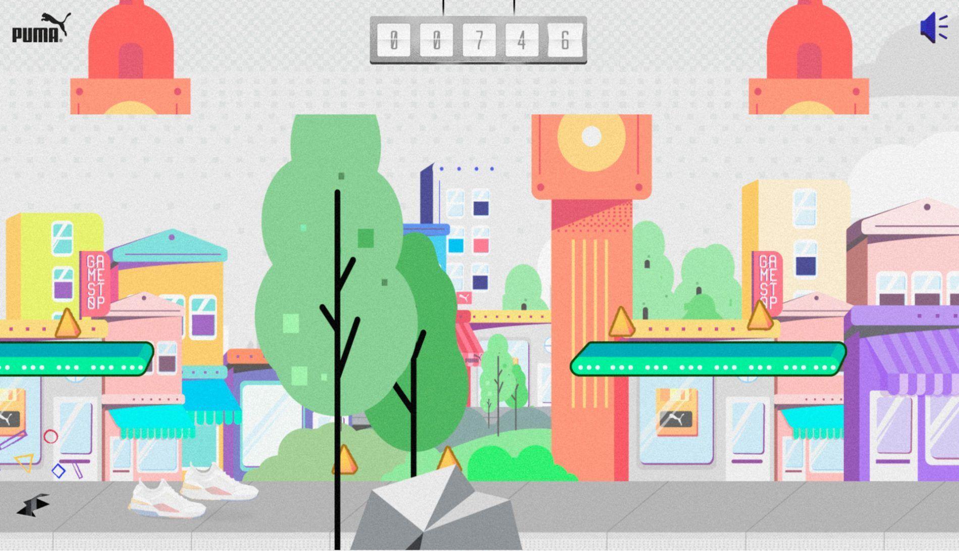 RS0 videojuego puma retro