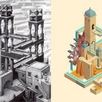 ¿En qué se han inspirado para crear el arte de Monument Valley?