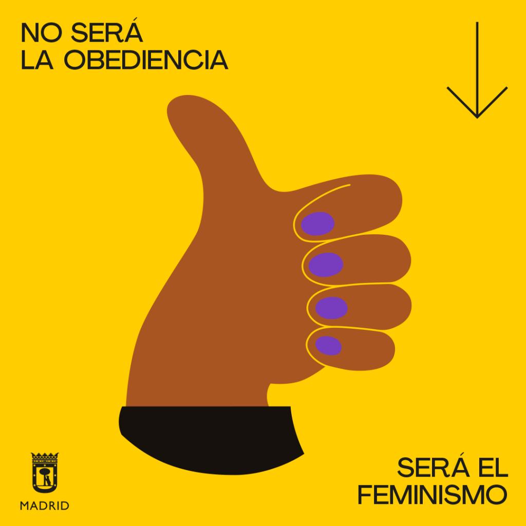 madrid feminista campaña publicidad mujer