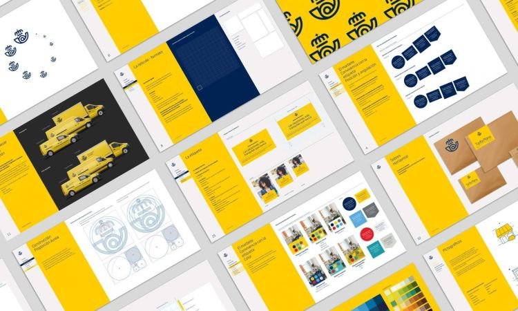 rebranding correos manual
