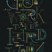 Inspiración de composición tipográfica