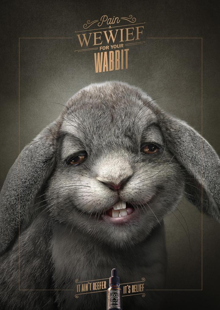 alivio dolencia conejo anuncio