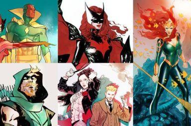 diseño personajes femeninos comic