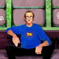 Nuevos pinceles de Photoshop inspirados en Keith Haring