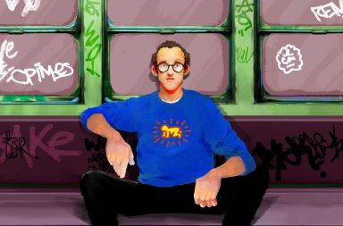 Keith Haring PINCEL PHOTOSHOP
