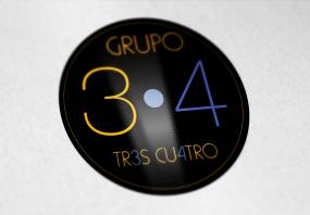 Mockup logotipo en vinyl