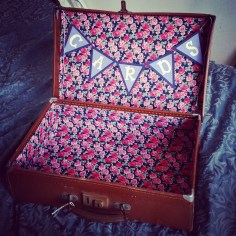 100 days of making suitcase