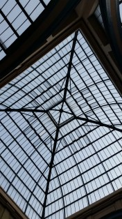 Alexandra Palace glass roof