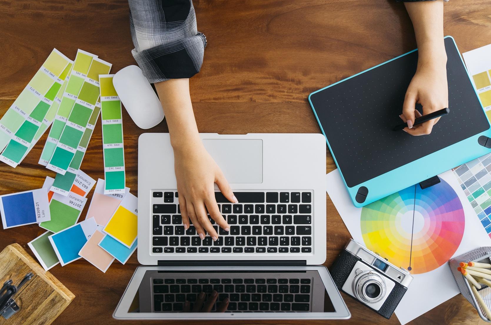 El diseño gráfico en la mercadotecnia digital