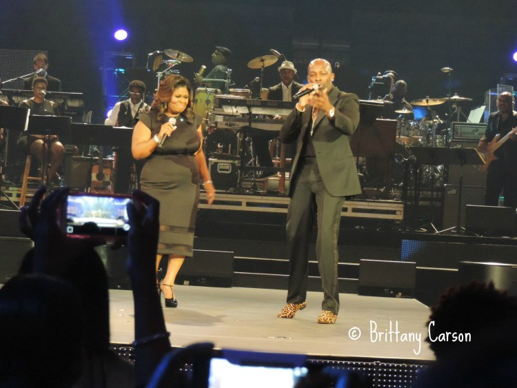 Loved the duet between Joe and Kim Burrell. They sounded amazing together. They should really consider doing a project together.