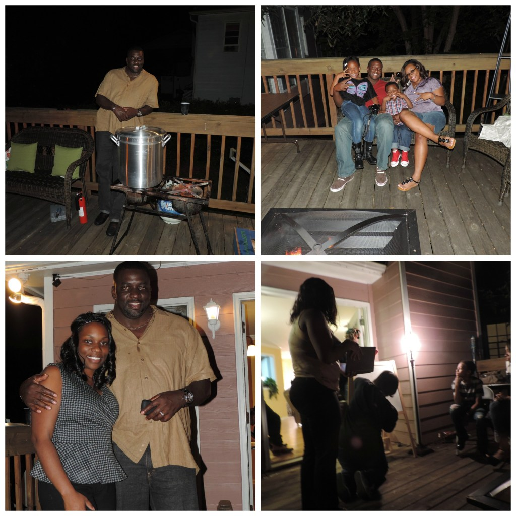 Friday Night: Lowcountry Boil with fun and games