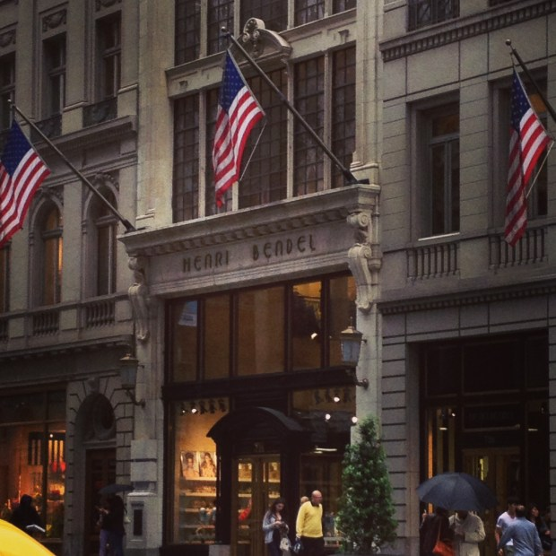 Finally got the chance to visit one of my favorite flagship stores Henri Bendel!