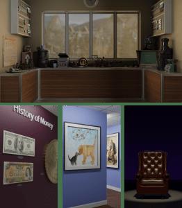 Example Blender backgrounds