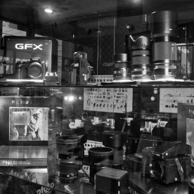 The Fujifilm GFX 50S, lenses and accessories are in great company at L & P, also one of Australia's Phase One dealers.