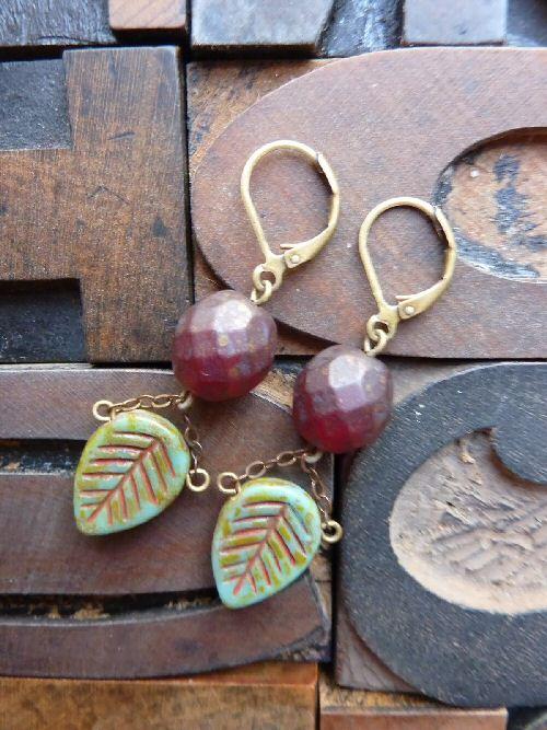Misbehaving Underneath the Mistletoe Earrings