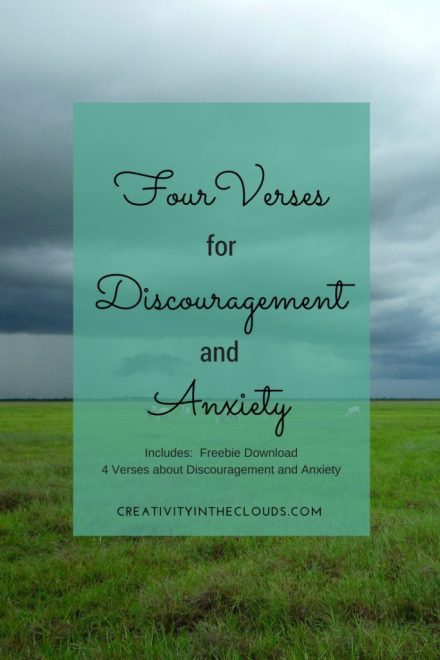 Four Verses for Discouragement and Anxiety