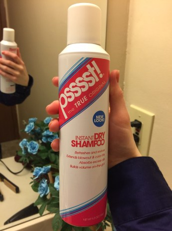 Pssst! Instant Dry Shampoo Review