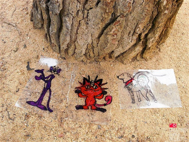 Barcelona's Plastic and cartoons #creativityphotoproject