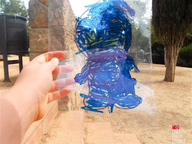 Barcelona's Plastic and cartoons #creativityphotoproject