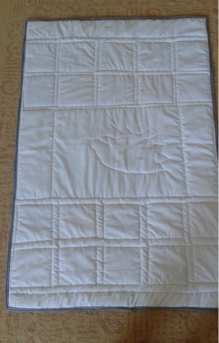baby quilt back