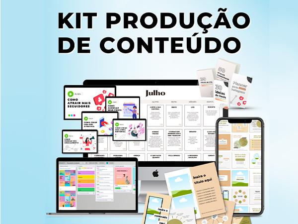 kit de producao de conteudo