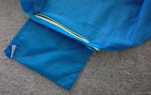 inside of the pocket of old jacket