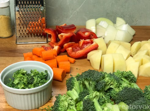 broccoli cheddar soup ingredients chopped
