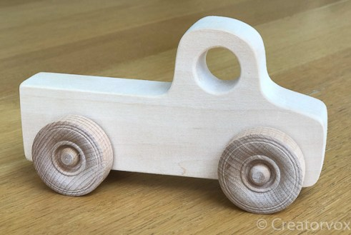 toy car pickup truck