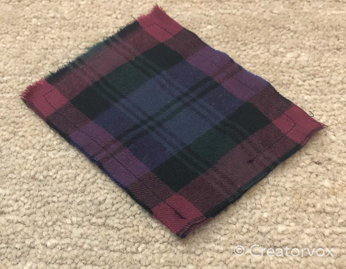plaid pocket hand warmers ready to fill