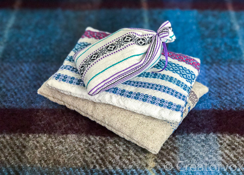 easy handmade gifts lavender sachet two methods