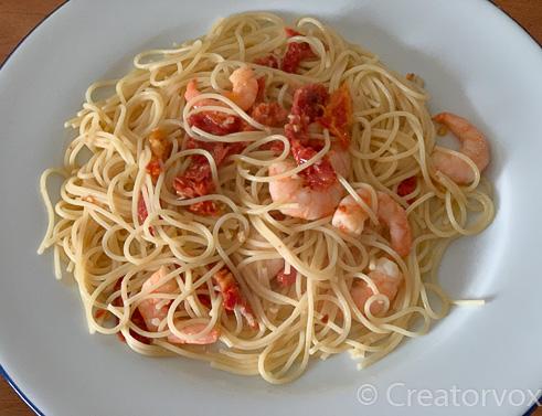 10 minute shrimp pasta recipe