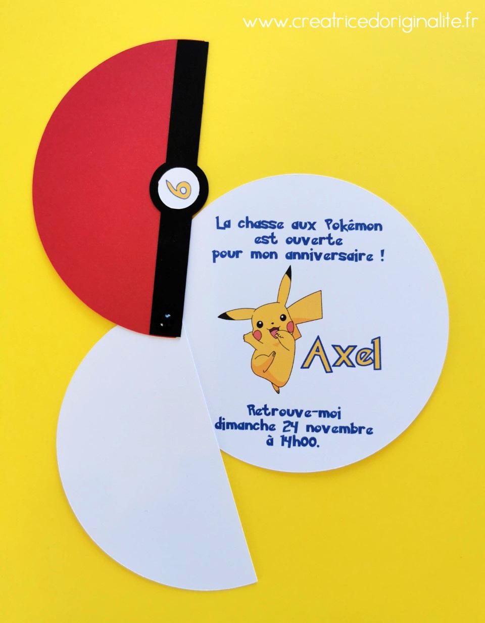 camille 2 z ailes e invitation pokemon