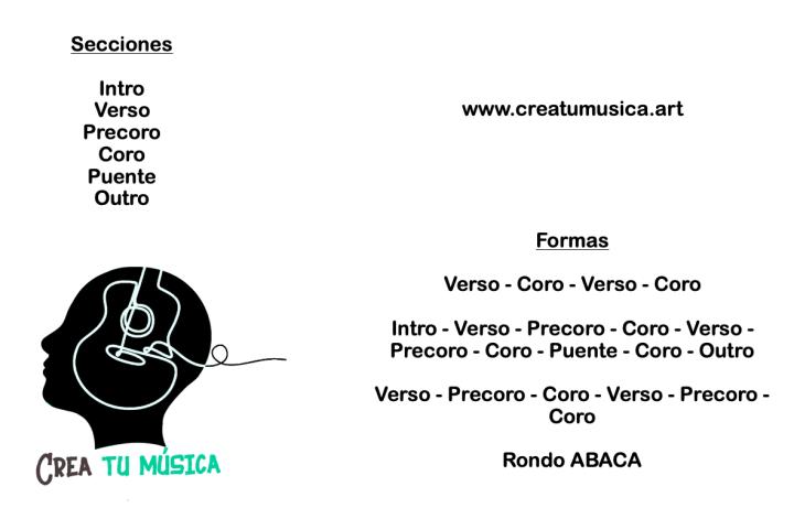 Estructura de la canción