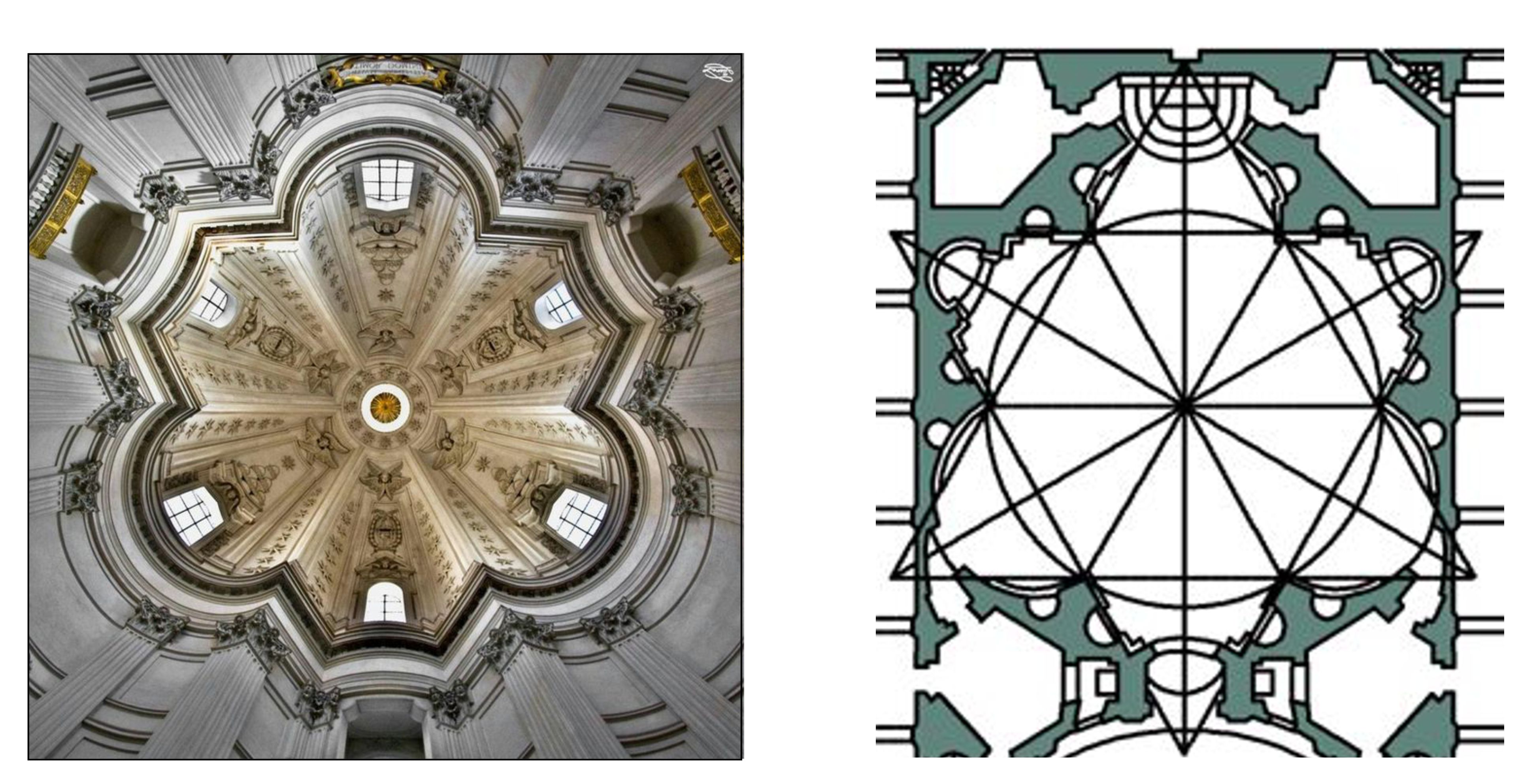 The Young Borromini and the use of geometry