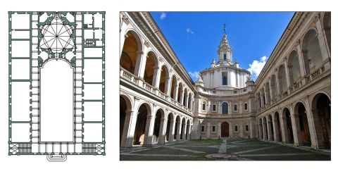 sapienza plan and photo