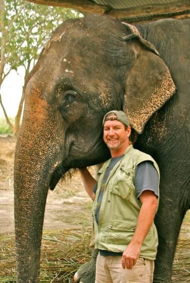Aaron and Elephant