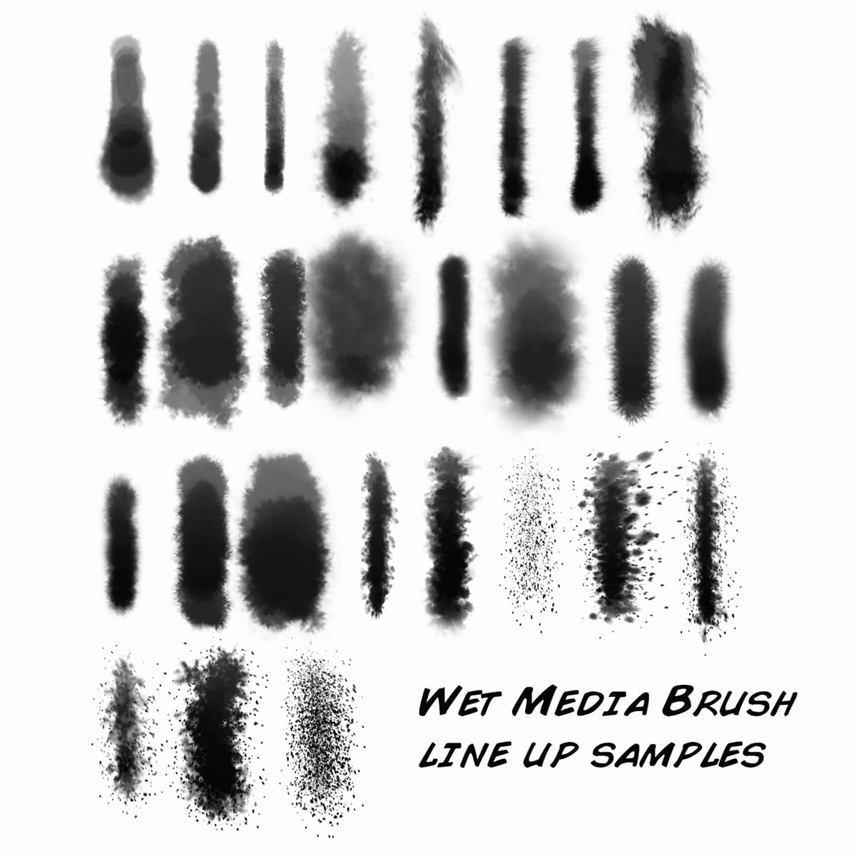 Aaron Blaise Custom Photoshop Wet Media Brushes