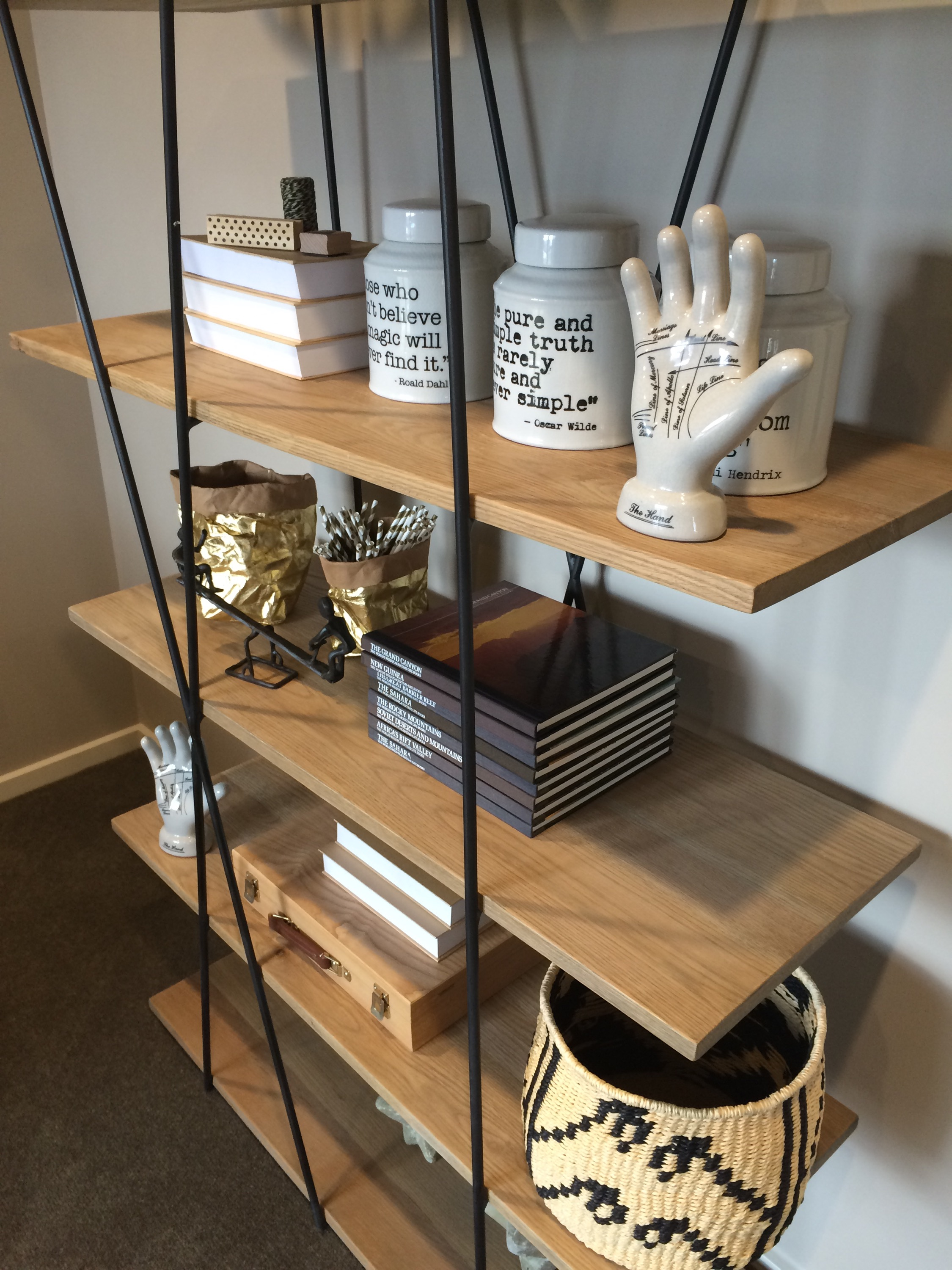 Bookshelf Styling 101- Make Your Junk Look Like Treasure!