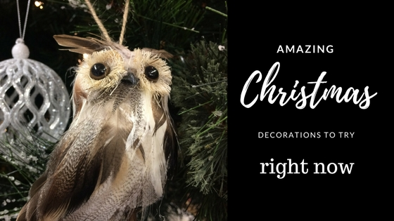 Amazing Christmas Decorations To Try Right Now!