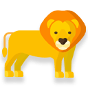 African lion icon
